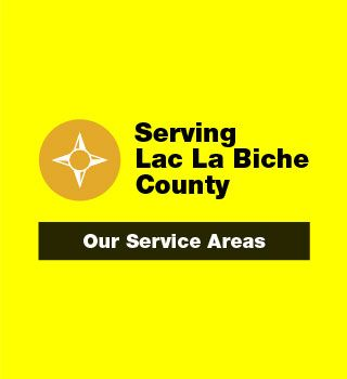Service Lac La Biche County. Our Service Areas