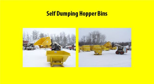 Self Dumping Hopper Bins